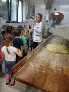 Wycieczka starszaków do piekarni WERONIKA